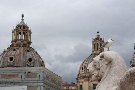 Rome view Standard-Bild
