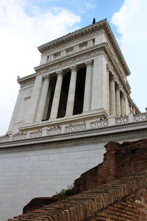 Monument Vittorio Emanuele II in Rome