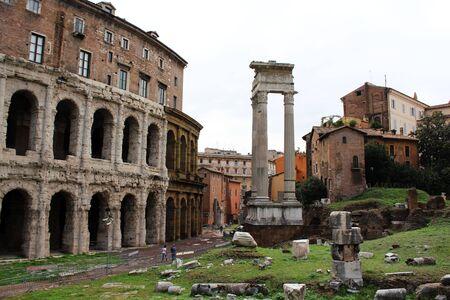 Roman ruins in Rome
