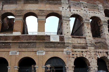 Coliseum Colloseum Standard-Bild