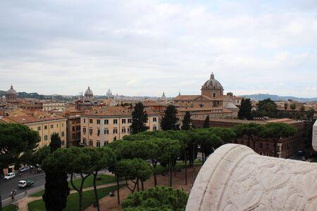 Rome panoramic view Standard-Bild