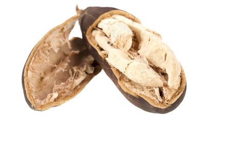 Baobab fruit on a white background Фото со стока - 68250845