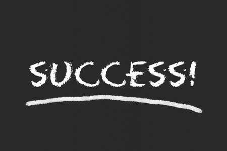 legislating: Success script on blackboard Stock Photo