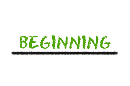 legislating: beginning green script and black underline on a white background