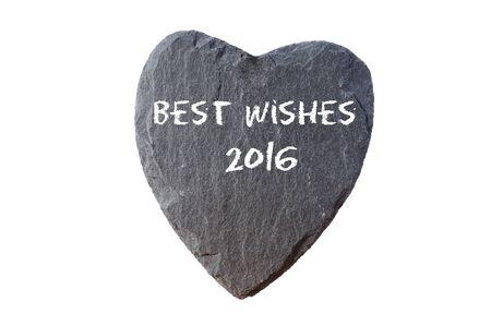 2016 슬레이트 마음을위한 최고의 소원 스톡 콘텐츠