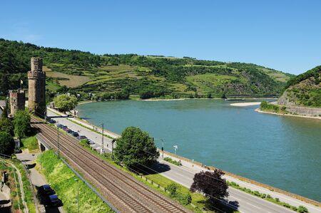 World Heritage Middle Rhein Valley near Oberwesel