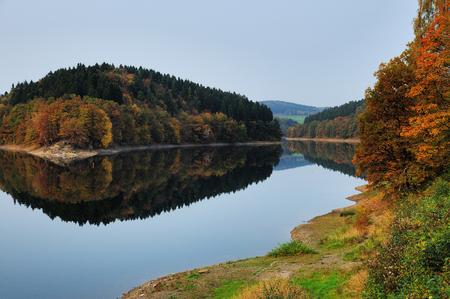 Fall at the Aggertalsperre - Aggertal