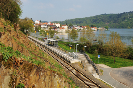 Herzhausen at the Edersee with National Park Station