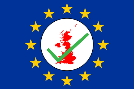 Brexit UK map with checkbox