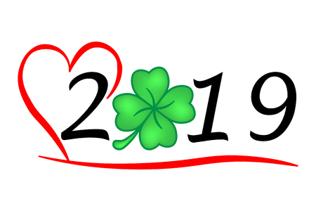 hearty year 2019 with Luck