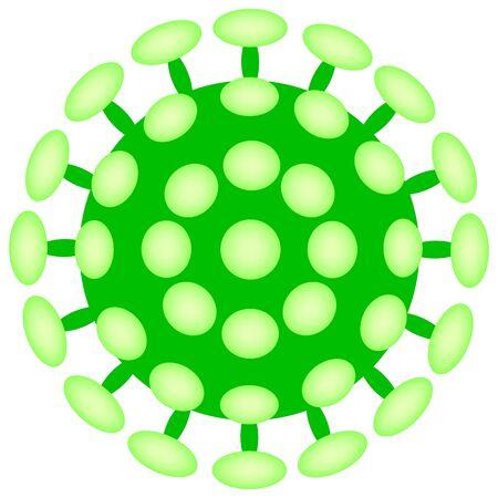 COVID-19 Virus Illustration