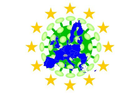 COVID-19 Virus Map from Europe