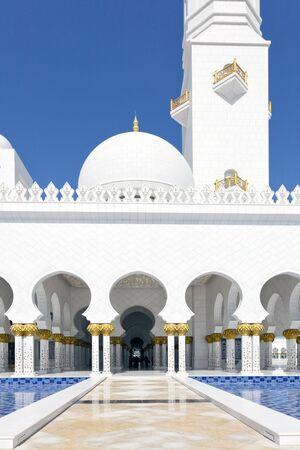 Sheik Zayed Mosque  Abu Dhabi Editorial