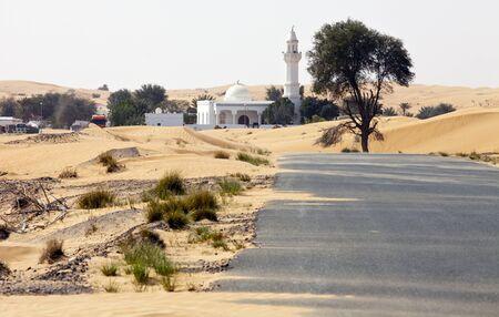 In der Wüste bei Dubai