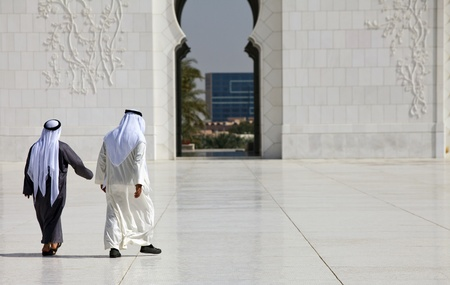 denominational: Abu Dhabi Sheik Zayed Mosque Editorial