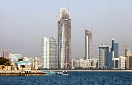 Skyline Abu Dhabi Editorial