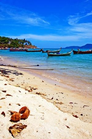 Thailand Phuket Beach Stock Photo