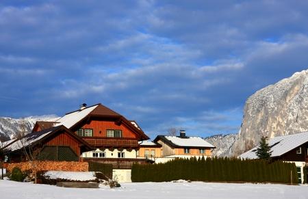 Mountain Village in Austria Europe