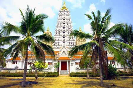 Wat Yansangwararam in Thailand photo