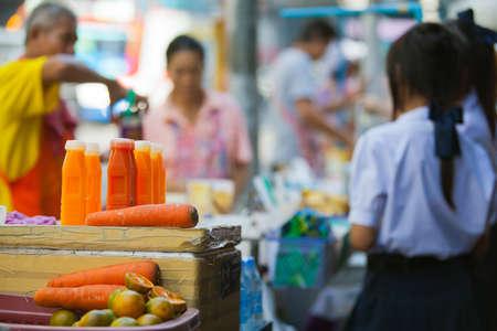 On a Thai market Stock Photo - 12150365