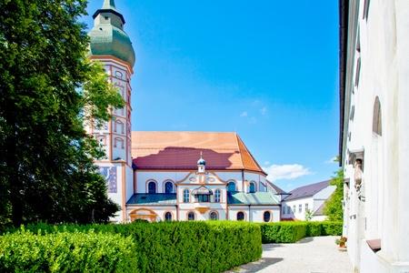 Kloster Andechs in Bayern Deutschland