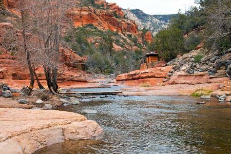 Slide Rock State Park Arizona USA