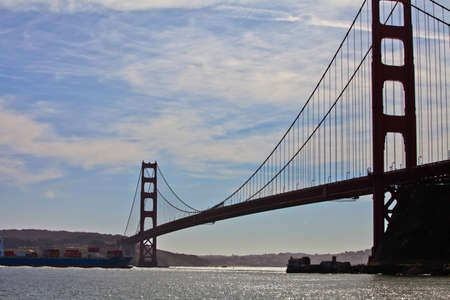 Golden Gate Bridge San Francisco Stock Photo