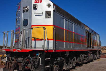 flagstaff: Traindepot in Flagstaff Arizona Stock Photo