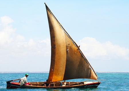 Fishing Boat in Kenia