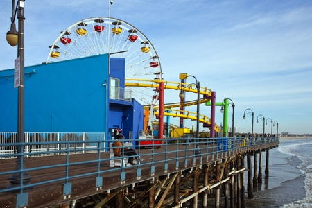 Santa Monica Pier Los Angeles Kalifornien USA