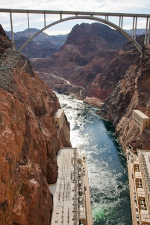 Hoover Dam USA Nevada Arizona photo