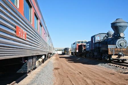 Railway Flagstaff Arizona USA