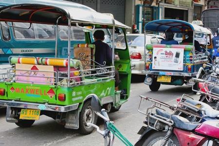 tuk: Tuk Tuk in Bangkok Thailand