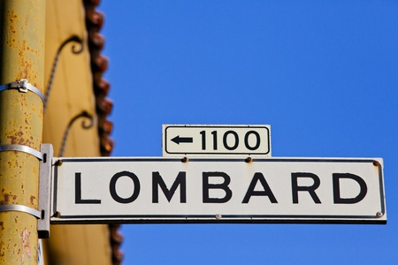Lombardstreet San Francisco Californien