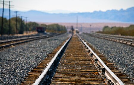 Railwayroad in Baker California