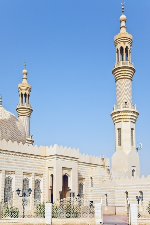 denominational: Mosque Minaret in Abu Dhabi VAE