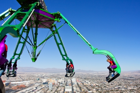 estratosfera: Stratosphere Tower Las Vegas, EUA, em 04 02 2012