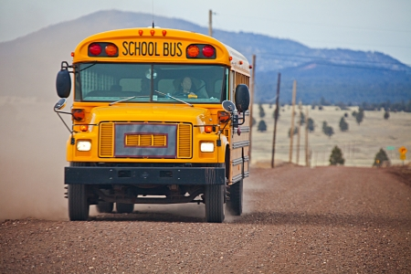School bus in Arizona
