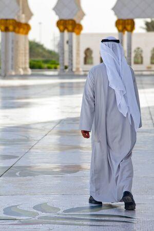 Sheik Zayed Mosque Abu Dhabi on 30.01.2011 Editorial