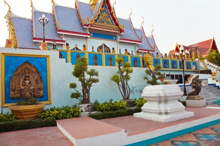 Buddhist temple in Pattaya, Thailand on 03 02 2011 photo