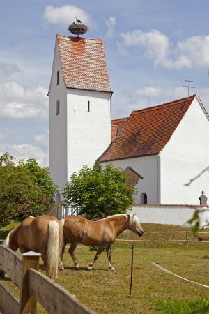 Village Bavaria Germany Stock Photo