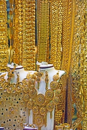 gold souk: Gold Souk in Dubai Stock Photo