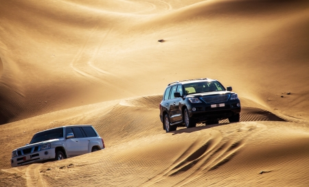 Offroad in the Desert  Dubai