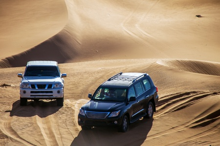 Offroad in the Desert Dubai