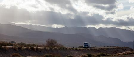 Stormy atmosphere in Arizona