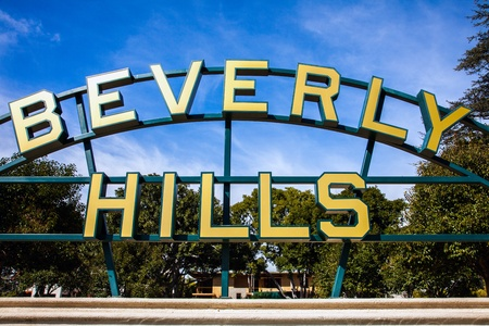 Bverly Hills Sign Stock Photo - 17524251