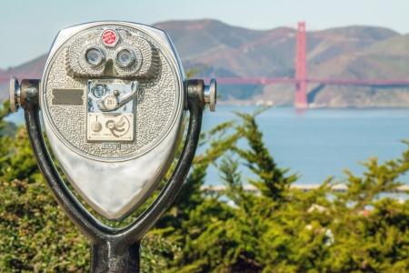 View of the Golden Gate Bridge in San Francisco