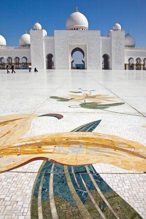 sheikh zayed mosque: Sheikh Zayed Mosque Abu Dhabi