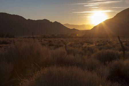 Sunset in the Sierra Nevada