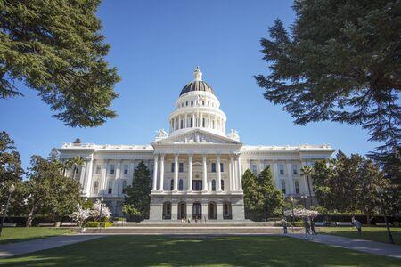 queen isabella: State Capitol in Sacramento Kalifornien